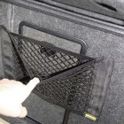 ZIQIAO Universal Car Seat Back Storage Elastic Mesh Net Bag - Black