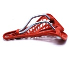 Mountain Bike Engineering Plastic Spider Selle de style Web - Rouge