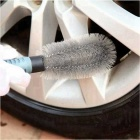 ZIQIAO Vehicle Tyre Hub Brush Cleaning Tool - Black + Dark Grey