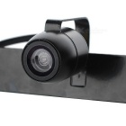 A01 Universal External Mini Wired Car Rearview Camera - Black