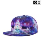 Fashionable Art Painting Flat Brim Outdoor Sports / Street Dancing / Hip-Hop Hat