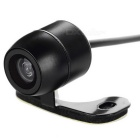 A02 Universal External Mini Wired Car Rearview Camera - Black