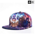 WUKE W027 Unisex 3D Pharaoh Pattern Peaked Cap - Multi-Colored