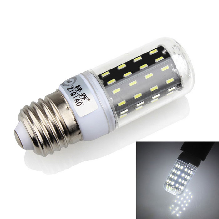 ZIQIAO YM4005 E27 5W 7000K 56-SMD LED Cold White Bulb Lamp (220~240V)