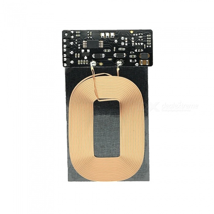 QI Wireless Charging Receive Module - Black