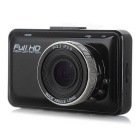 "H300 2.7"" LCD CMOS 140' Wide-Angle Car DVR Camera - Black"