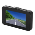 "H300 LCD de 2,7 ""CMOS 140 'Wide-Angle Car DVR Camera - Black"