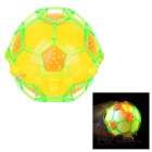 Crazy Colorful Flash Music Electric Football - Yellow + Green + Orange