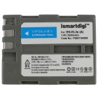 Ismartdigi EL3E / EL3EA 1650mAh appareil photo Li-ion batterie + chargeur double