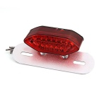 Qook 16-F5 Motorbike Rear Tail Turn Signal Brake Driving Lamp