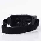 VR-1688A Head Mount Plastic Virtual Reality 3D Video Glasses - Black