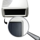 AG-segurança DP-06S Outdoor Solar Siren w / Strobe Light - Red + White