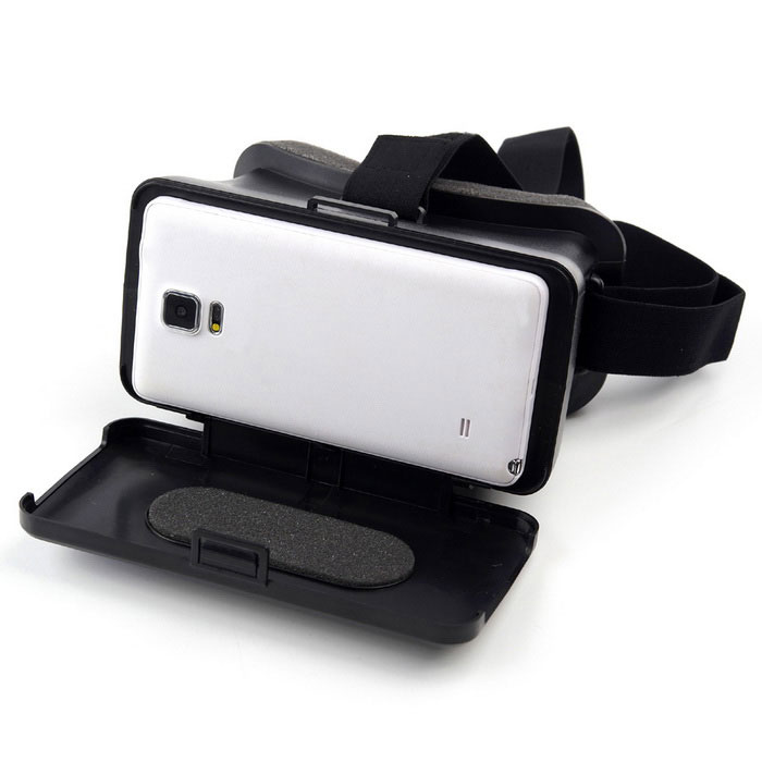 "VR-1688C Large Size 3D Video Glasses for 4.3~6.3"" Android iOS Phone"