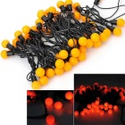 Marsing 10W 50-LED Orange Light Festival Ball Strip Light (5m/EU Plug)