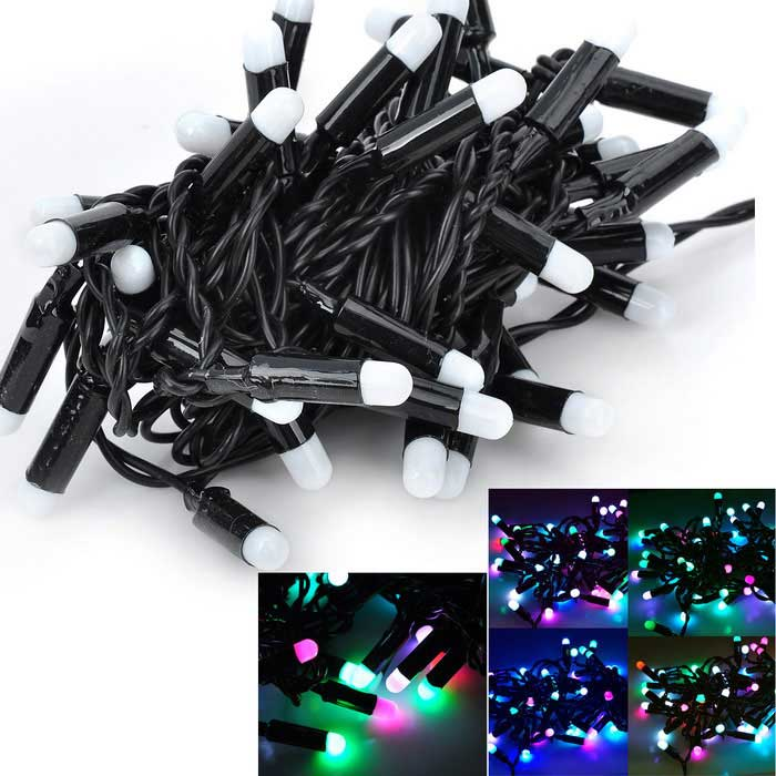 Marsing 10W 5m Colorful 50-LED RGB Festival Light String (AC 110-240V)