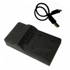 EL15 Micro USB Mobile Camera Battery Charger for - Black