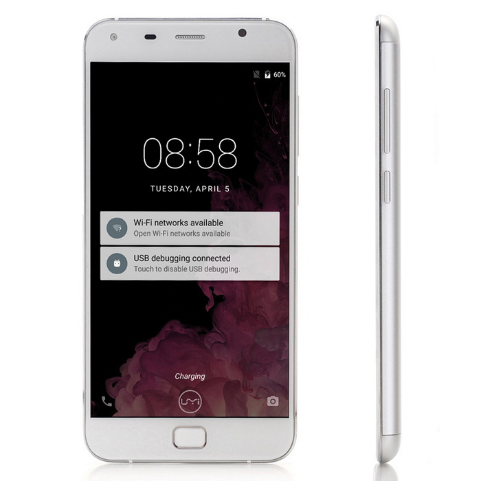 UMI TOUCH 4G Android 6.0 Phone w/ 3GB RAM, 16GB ROM - White