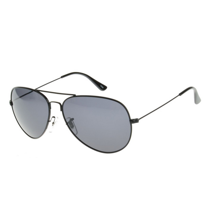SENLAN 3026P11 UV400 Protection Sunglasses - Black + Grey
