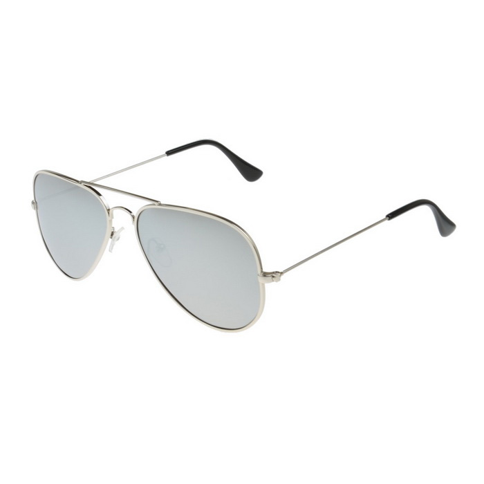 SENLAN 3026P6 UV400 Protection Sunglasses - Silver + Mercury