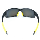 SCREW 9003P1 Polarized Goggles Sports Sunglasses - Black + Yellow