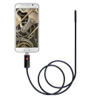 2 In 1 7mm 6-LED Android & PC Endoscope - Black (2m)