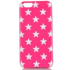 Housse de protection TPU Retour Star Pattern for IPHONE 6 / 6S - Dark Pink