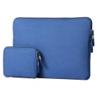 "Denim Laptop Inner Bag + Storage Bag for Air 11"" - Jewelry Blue"