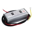 50W IP67 Wasserdichter Outdoor LED Power Driver - Silber + Schwarz