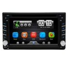 "Junsun 6.2"" Car DVD Player w/ GPS, Bluetooth, AVIN, USB / SD - Black"