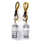 Qook 6-LED Yellow Light Motorcycle Turn Signal Lamps (12V / 2PCS)