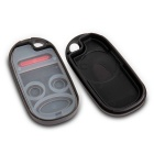Qook Replacement Keyless Entry Remote Key Fob Shell Case - Black