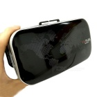 High-Definition Blu-Ray Lenses VR 3D Video Glasses - Black + Silver