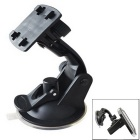 ZIQIAO CZ-84 Car Navigation Support GPS Suction Cup Bracket - Black