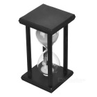 Creative 30 Minutes Hourglass Sand Timer - White + Black