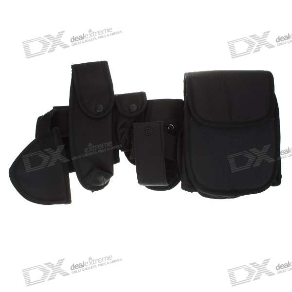Free Size Durable Tactical Duty Belt with Holsters (102CM-Length)