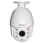 2MP, 1080P, CMOS, 90~120', 4X Zoom, Auto Focus, 6 Array IR LEDs, 60m Night Vision, IP66 Waterproof