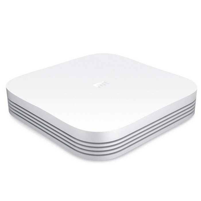 Xiaomi MDZ-18-AA Smart Caja de TV 4GB HD 2 GB de RAM, ROM de 8GB-Blanco (Plugs EE.UU.)