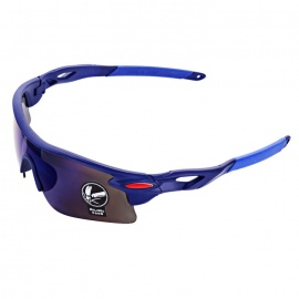 OULAIOU Anti-Explosion UV400 Protection Sunglasses - Sapphire Blue