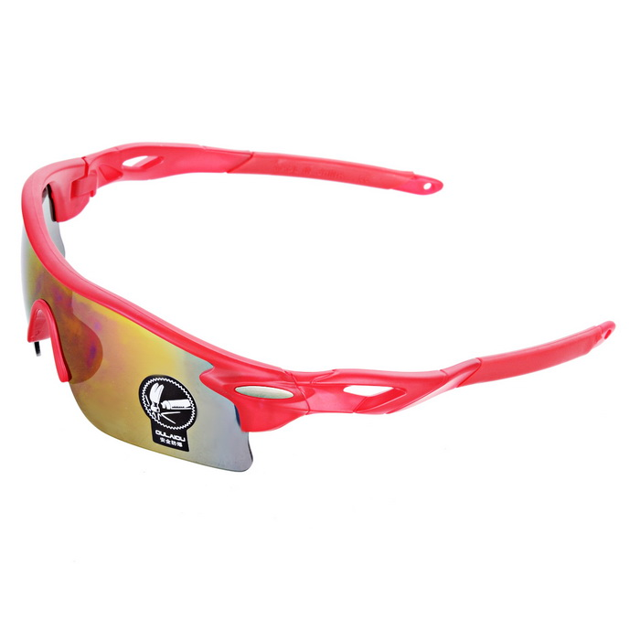 OULAIOU Anti-Explosion UV400 Protection Sunglasses - RedGoggles<br>Lens ColorRedFrame ColorRedQuantity1 DX.PCM.Model.AttributeModel.UnitShade Of ColorRedGenderUnisexSuitable forAdultsLens MaterialPCLens Width6.8 DX.PCM.Model.AttributeModel.UnitFrame MaterialPlasticFrame Height4.5 DX.PCM.Model.AttributeModel.UnitOverall Width of Frame15 DX.PCM.Model.AttributeModel.UnitBridge Width2 DX.PCM.Model.AttributeModel.UnitPacking List1 * Sunglasses1 * Case<br>