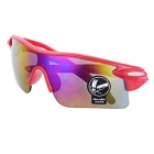 OULAIOU Anti-Explosion UV400 Protection Sunglasses - Red