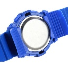 Assista Sports Quartz Digital de pulso w Backlight / colorido - Azul