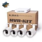 COTIER N4B3-Mini/L 4CH NVR Waterproof Bullet 1080P IP Camera System