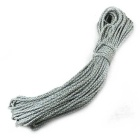 Multifunctional Durable Nylon Pulling Rope - White + Light Green (31M)