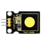 Keyestudio Capacitive Touch Sensor for Arduino - Black + Yellow