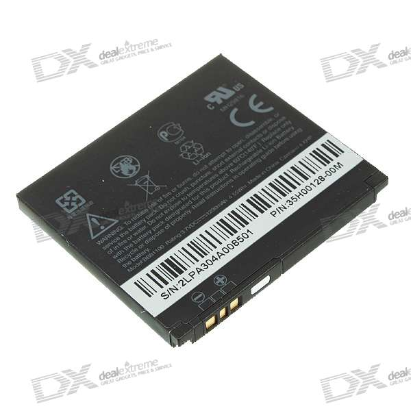 Replacement 1230mAh Lithium Battery for HTC HD2