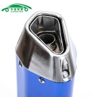 CARKING Iron Head Motorcycle Racing Muffler Tubo de escape - Azul