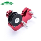 Motorcycle Chopper Aluminum Chain Adjuster Roller - Red