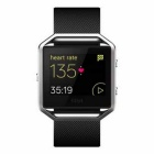 Fitbit Blaze Smart Fitness Watch Large - Black + Silver