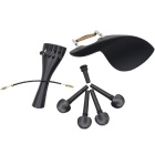 M20 4/4 Violin Chinrest + Tuning Peg + Tailpiece + Tail Gut + Endpin