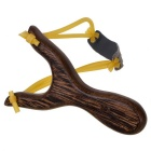 Outdoor Recreational Toy Rosewood Slingshot - Black + Mufti-Color